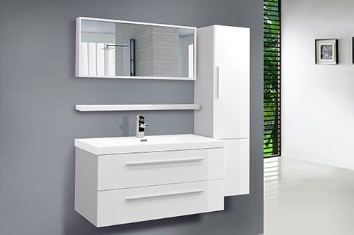 Stunning hauteur standard vanite salle de bain pictures for Lavabo salle de bain american standard